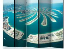 Paraván - Dubai: Palm Island II [Room Dividers]